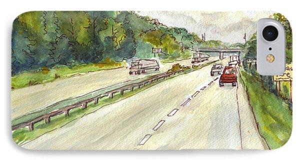 Highway 95 IPhone Case by Clara Sue Beym