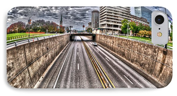 IPhone Case featuring the photograph Highway Into St. Louis by Deborah Klubertanz