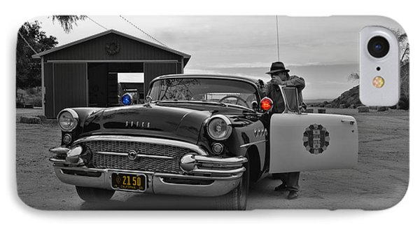 Highway Patrol 5 IPhone Case by Tommy Anderson