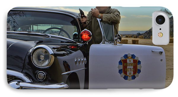 Highway Patrol 6 IPhone Case by Tommy Anderson
