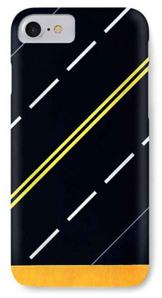 Highway IPhone Case by Thomas Gronowski