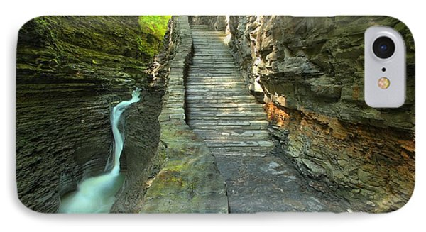 Hike Along The Gorge Trail IPhone Case by Adam Jewell