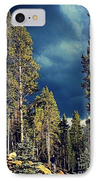 Hike In The Woods Phone Case by Garren Zanker