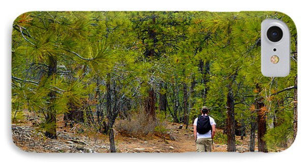 Hike On 2 Phone Case by Brent Dolliver
