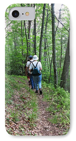 Hiking Group IPhone Case by Melinda Fawver
