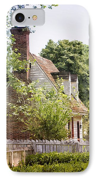 Hill Cottage IPhone Case by Shari Nees