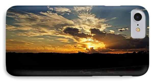 Hill Country Sunset IPhone Case by Dave Files