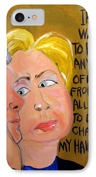 Hillary Phone Case by Jennie Cooley