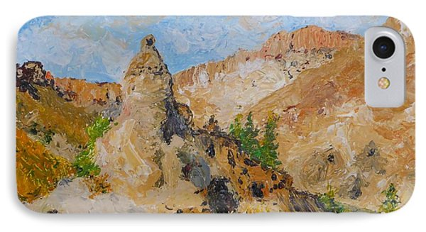 Hillside Church In Cappadocia IPhone Case by Diane Arlitt