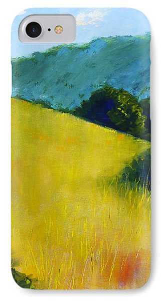 Hillside Prairie Phone Case by Nancy Merkle