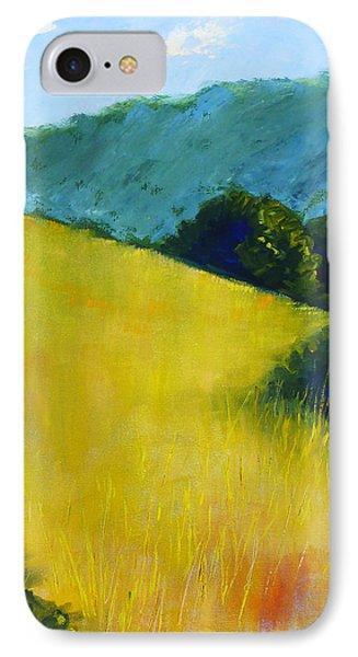 Hillside Prairie IPhone Case by Nancy Merkle