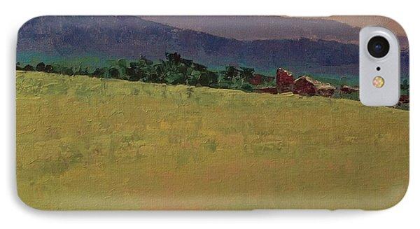Hilltop Farm IPhone Case by Gail Kent