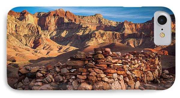 Hilltop Ruin IPhone Case by Inge Johnsson