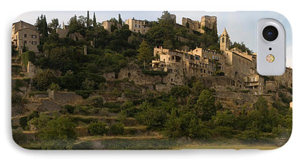 Hilltop Town Of Montbrun-les-bains IPhone Case by Panoramic Images