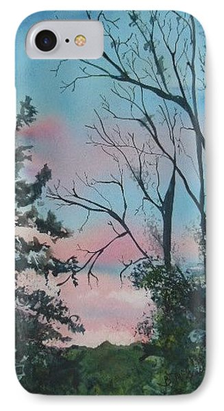 Hilltown Sunset IPhone Case