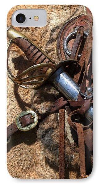 Hilt And Handle Phone Case by Kae Cheatham