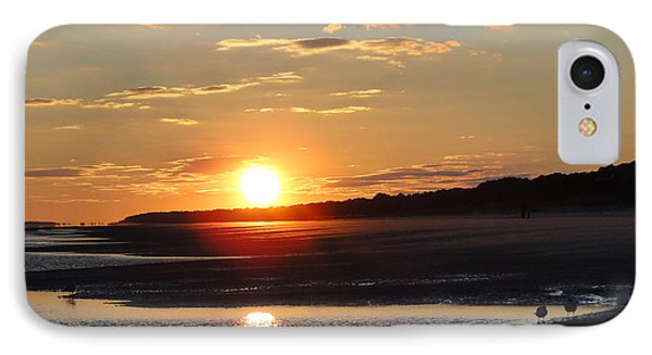 Hilton Head Sunset IPhone Case by Cindy Croal