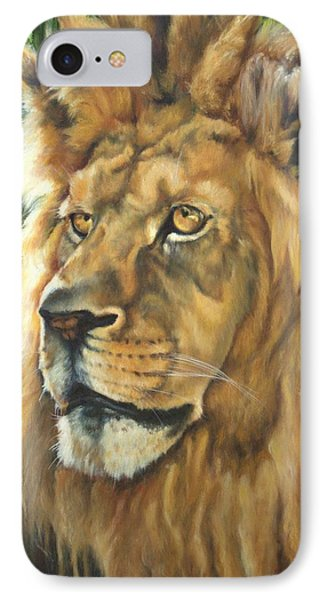 Him - Lion IPhone Case