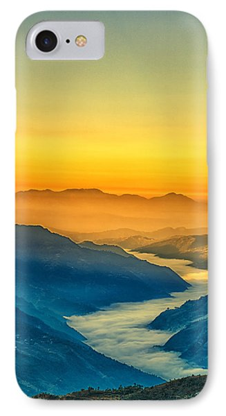 Himalaya In The Morning Light IPhone Case