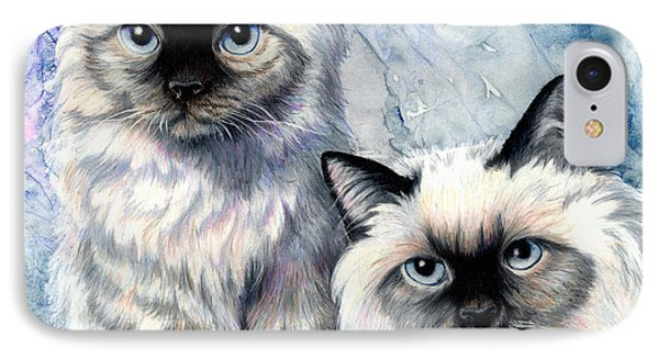 Himalayan Duo Phone Case by Sherry Shipley