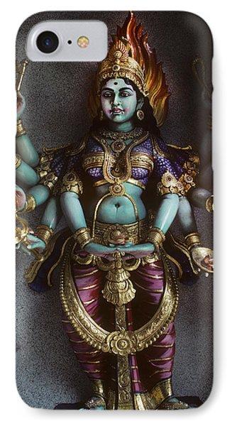 Hindu Goddess Bhairavi IPhone Case