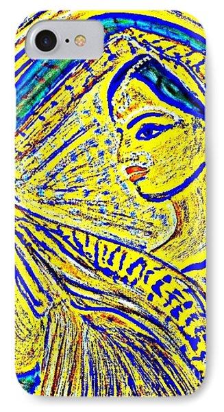Hindu Goddess Wedding IPhone Case