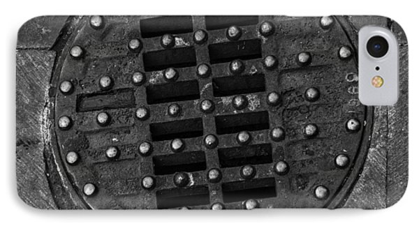 Hinged Manhole Cover Phone Case by Lynn Palmer