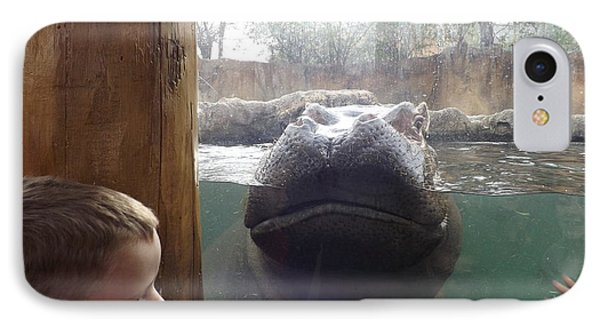 Hippo Time IPhone Case