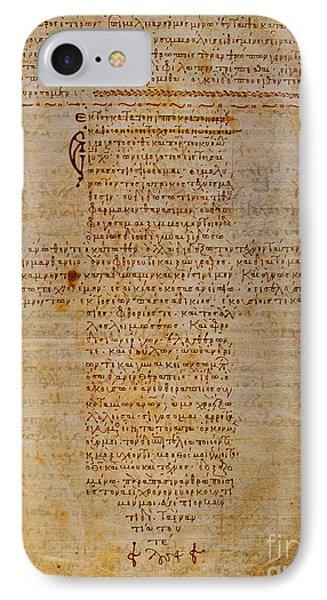 Hippocratic Oath Phone Case by Granger