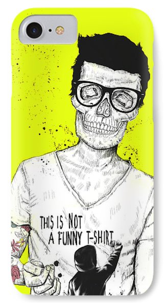 Hipsters Not Dead Phone Case by Balazs Solti