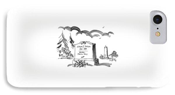 Hiram S. Dudson IPhone Case