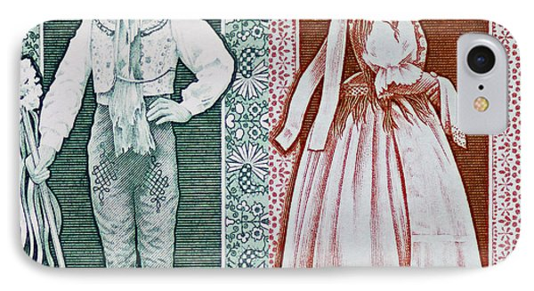 His And Hers Traditional Costumes Phone Case by Andy Prendy