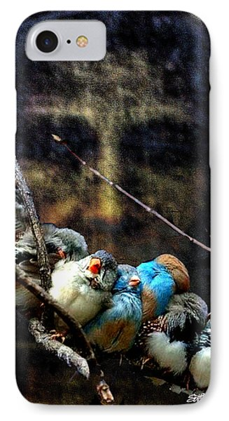 His Eye Is On The Sparrow IPhone Case by Seth Weaver