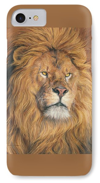 His Majesty - Detail IPhone Case by Lucie Bilodeau