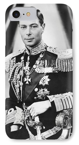 His Majesty King George Vi IPhone Case