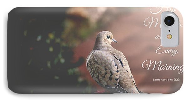 His Mercies Are New IPhone Case by Trina  Ansel