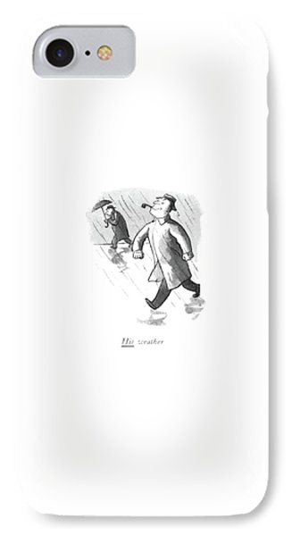 His Weather IPhone Case