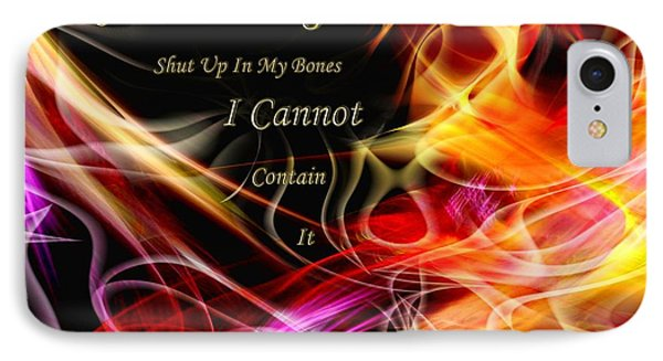His Word In My Heart IPhone Case by Margie Chapman