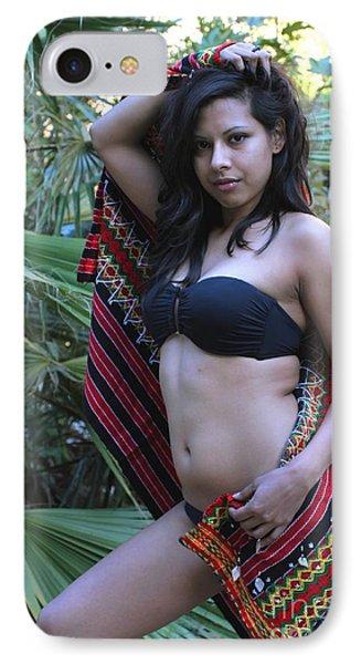 Hispanic Beauty IPhone Case by Henrik Lehnerer