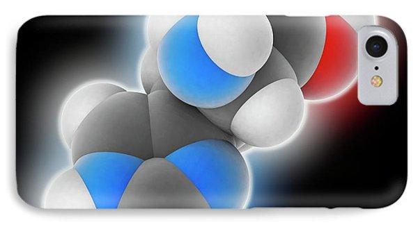 Histidine Molecule IPhone Case by Laguna Design