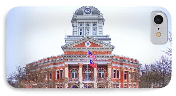 Historic Morgan County Court House Morgan County Georgia IPhone Case by Reid Callaway