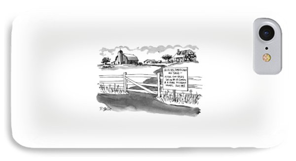 Historic Americana For Sale - Actual Hay Bales IPhone Case by Donald Reilly
