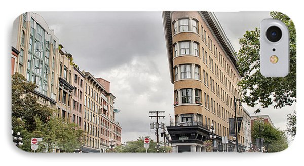 Historic Buildings In Gastown Vancouver Bc Phone Case by David Gn