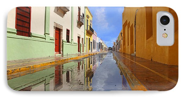 IPhone Case featuring the photograph Historic Campeche Mexico  by Susan Rovira