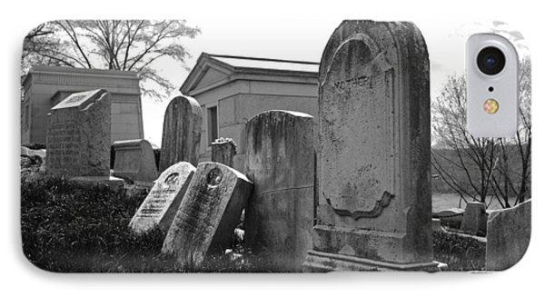 Historic Cemetery Phone Case by Jennifer Ancker