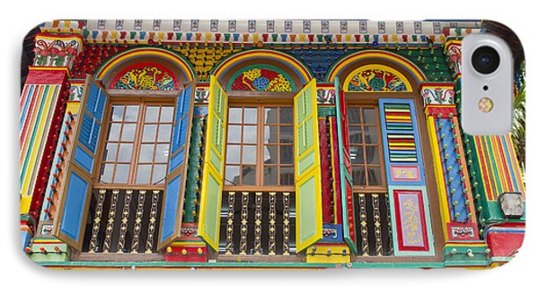 Historic Colorful Peranakan House Phone Case by David Gn