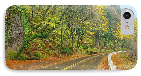 Historic Columbia Gorge Highway IPhone Case by Steve Warnstaff