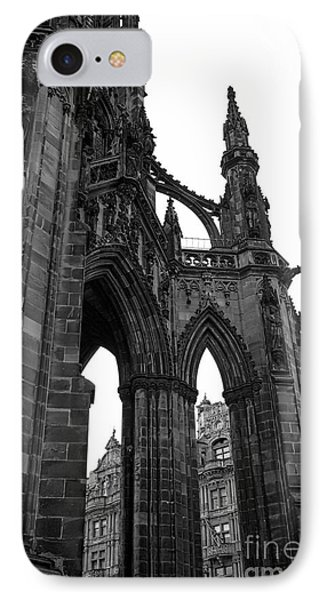 Historic Edinburgh Architecture IPhone Case by Kate Purdy