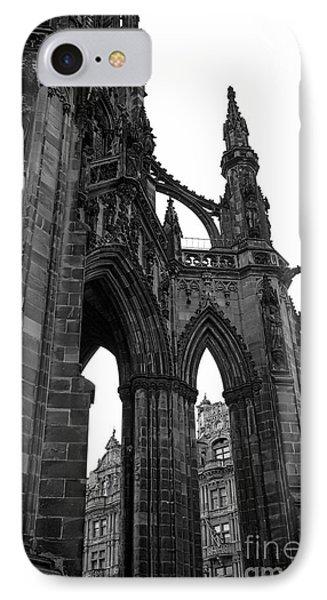 Historic Edinburgh Architecture IPhone Case