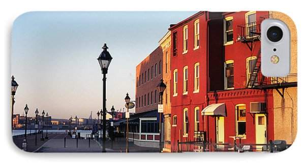 Historic Fells Point Phone Case by Thomas R Fletcher
